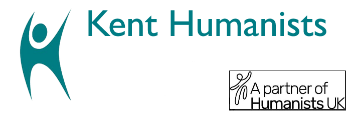 Banner: Kent Humanists, a partner of The British Humanist Association