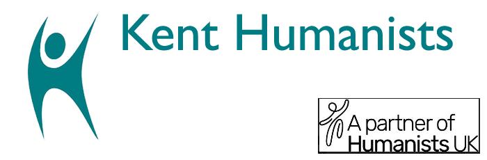 Banner: Kent Humanists, a partner of The British Humanist Association